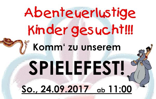 Spielefest und Saisoneröffnung 2017