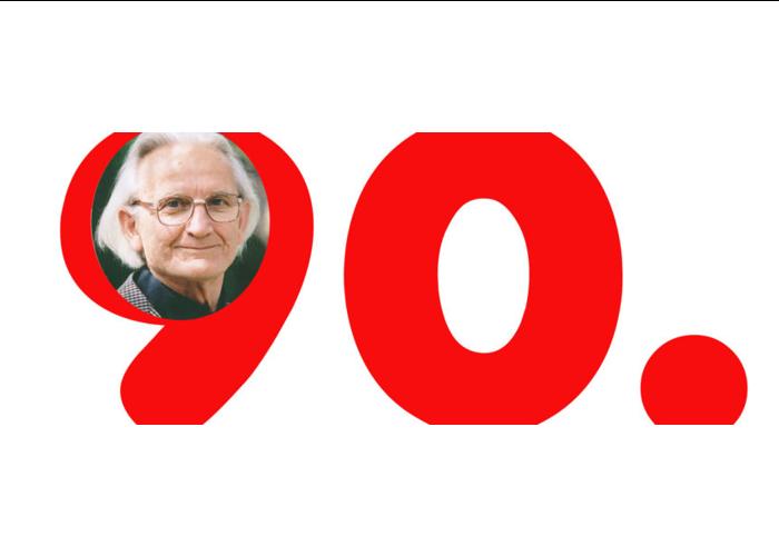 90. Geburtstag von Georg Beres