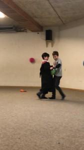 Ballontanz - eine koordinatorische Herausforderung