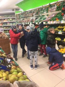 Die Gemüseabteilung: Wo zum Teufel sind die Schalotten?